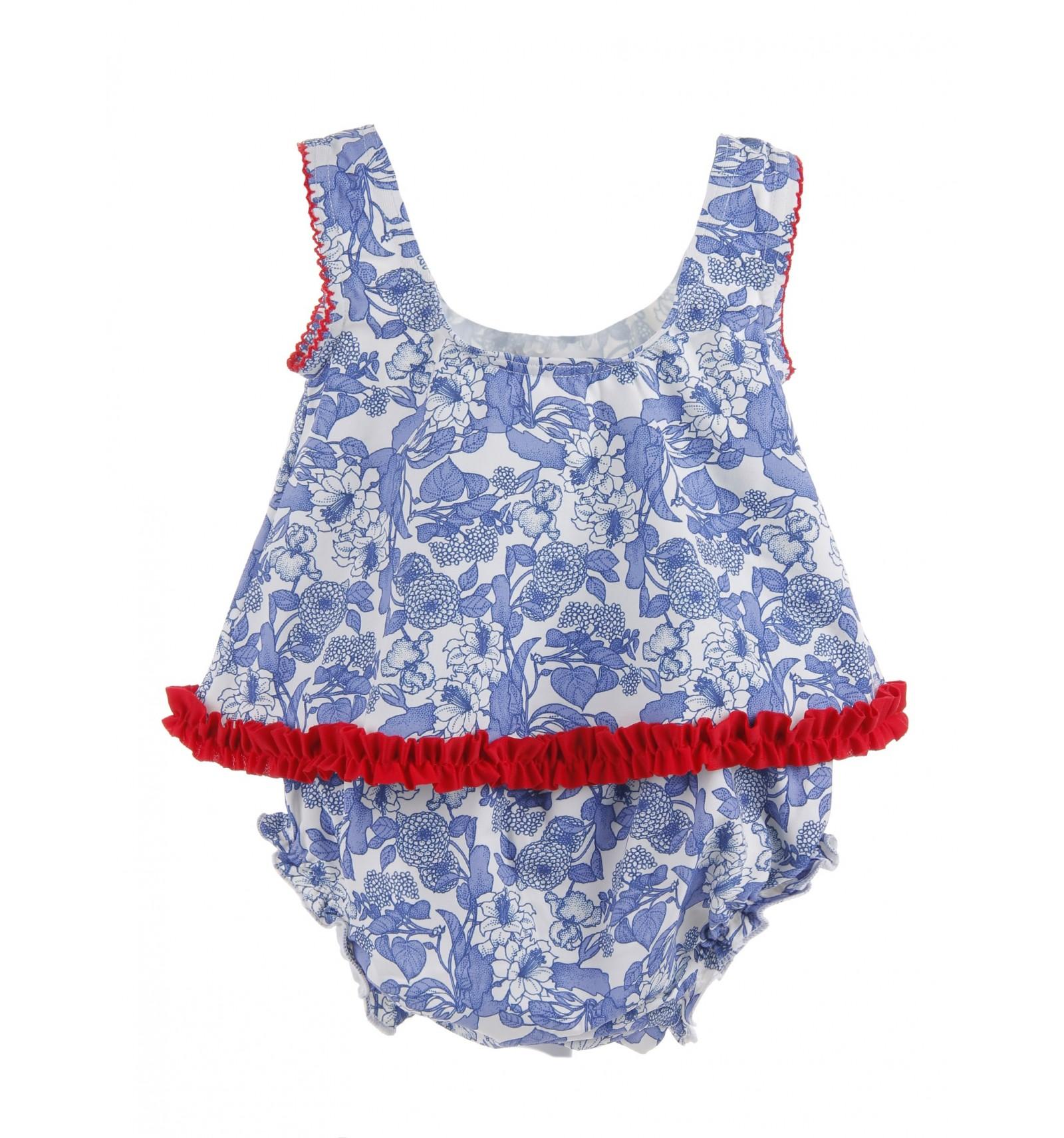 Ba ador de beb de dos piezas colecci n blue de babuk for Piezas para bebes