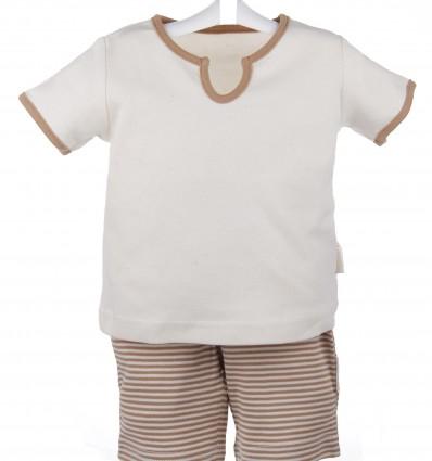 Pijama Algodón orgánico de verano