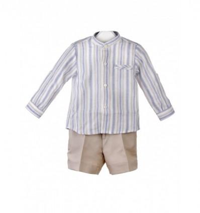 Conjunto de camisa y pantalón