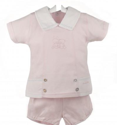Pijama de bebé de verano de dos piezas