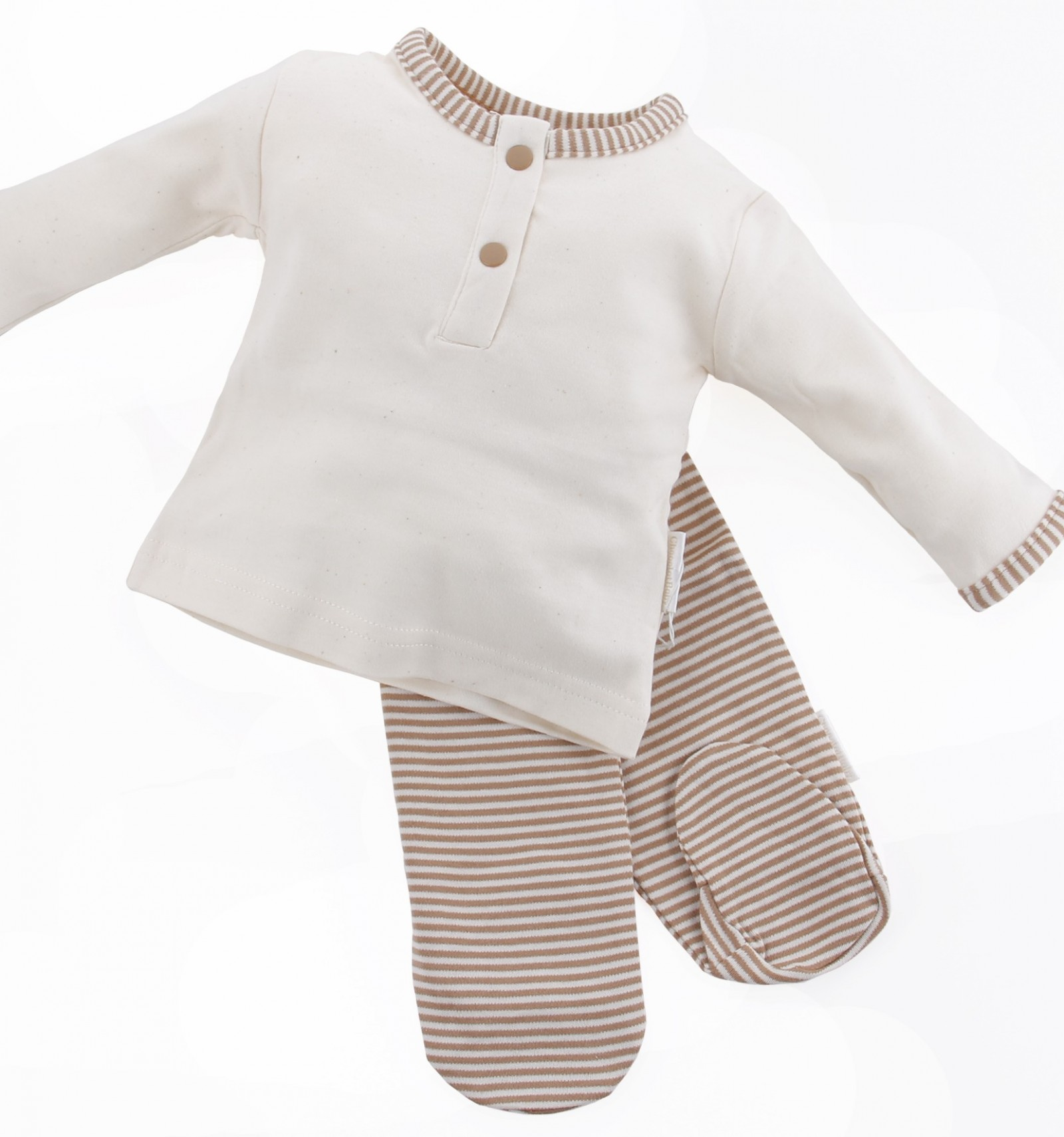 c1123b5ccb pijama para bebé algodón orgánico de dos piezas
