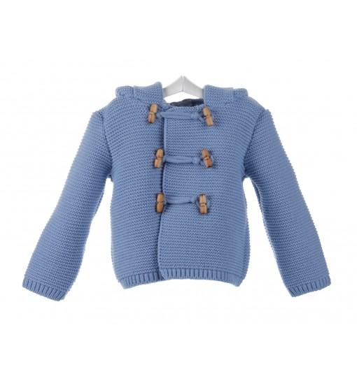 Chaqueta de bebé con capucha