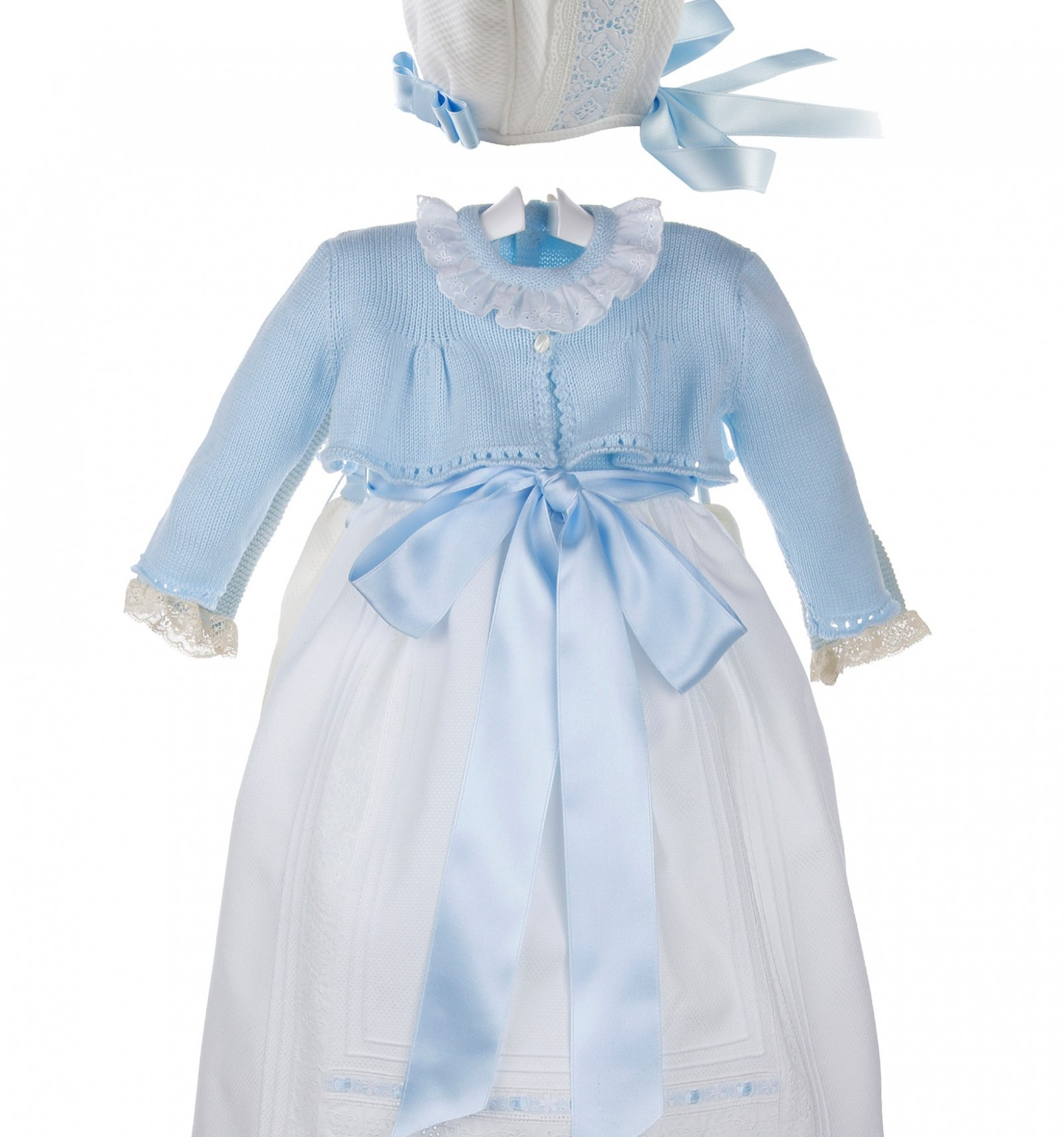 Conjunto para bebés de faldon con chaqueta y capota a juego 5359ed0c68a