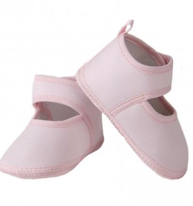 Zapatos de tela para bebé niña