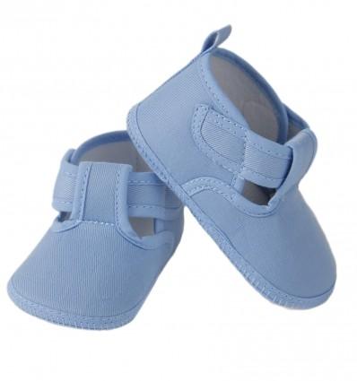 Zapatos de tela para bebé niño