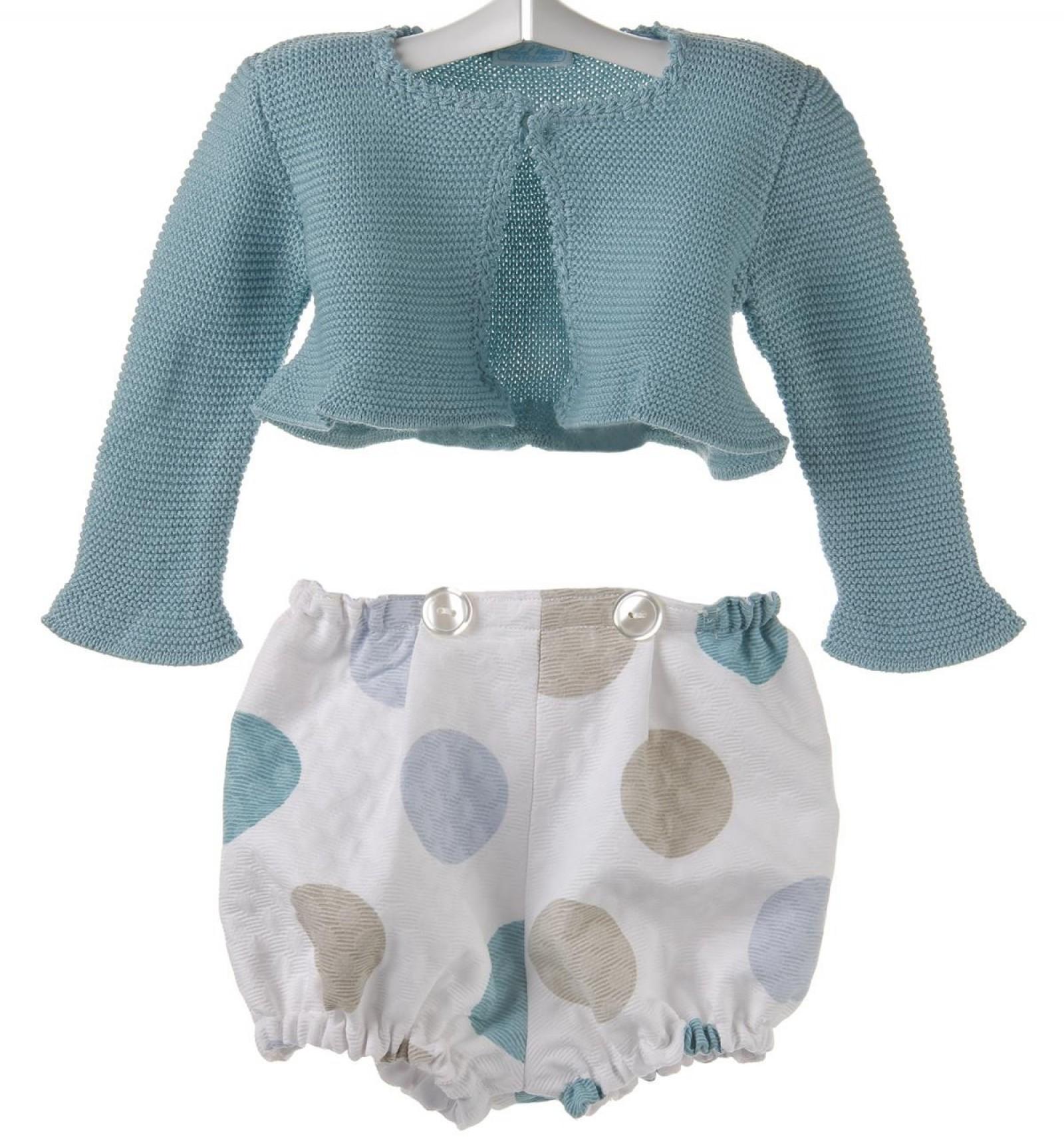 ab6d4a0c4 Conjunto para bebé de chaqueta de algodón y ranita de piqué