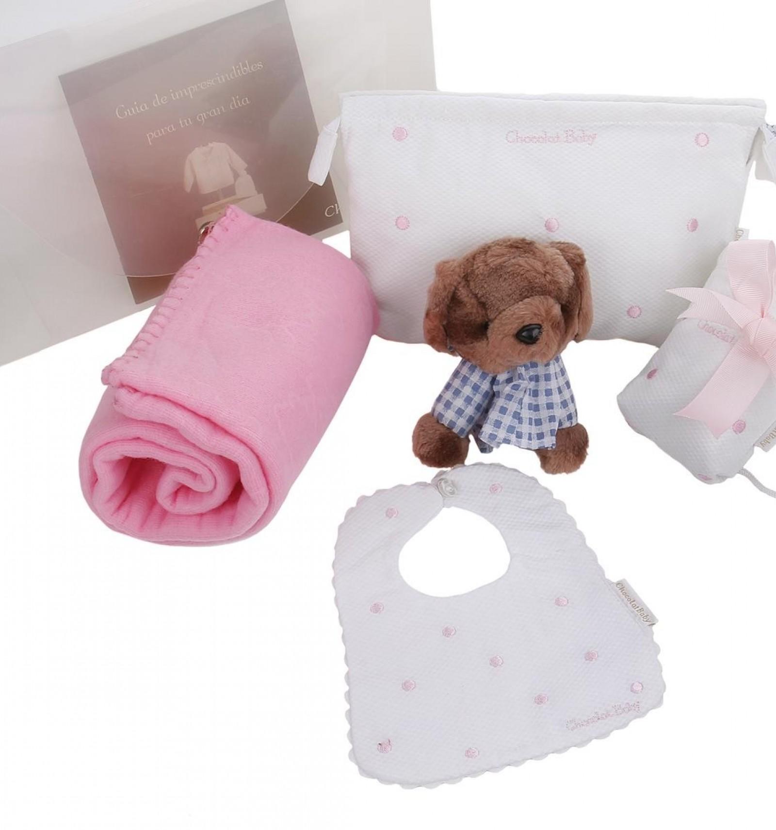 df17a0042 Maletin de regalo para recién nacidos y bebés con  portachupete