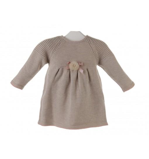 Vestido de lana para bebé