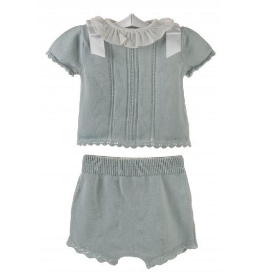 Conjunto para bebé de jersey con pantalon