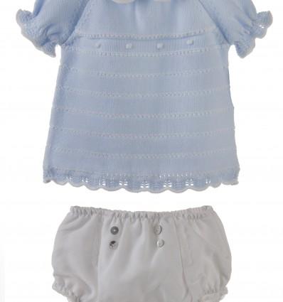 Conjunto para bebé de jersey con ranita