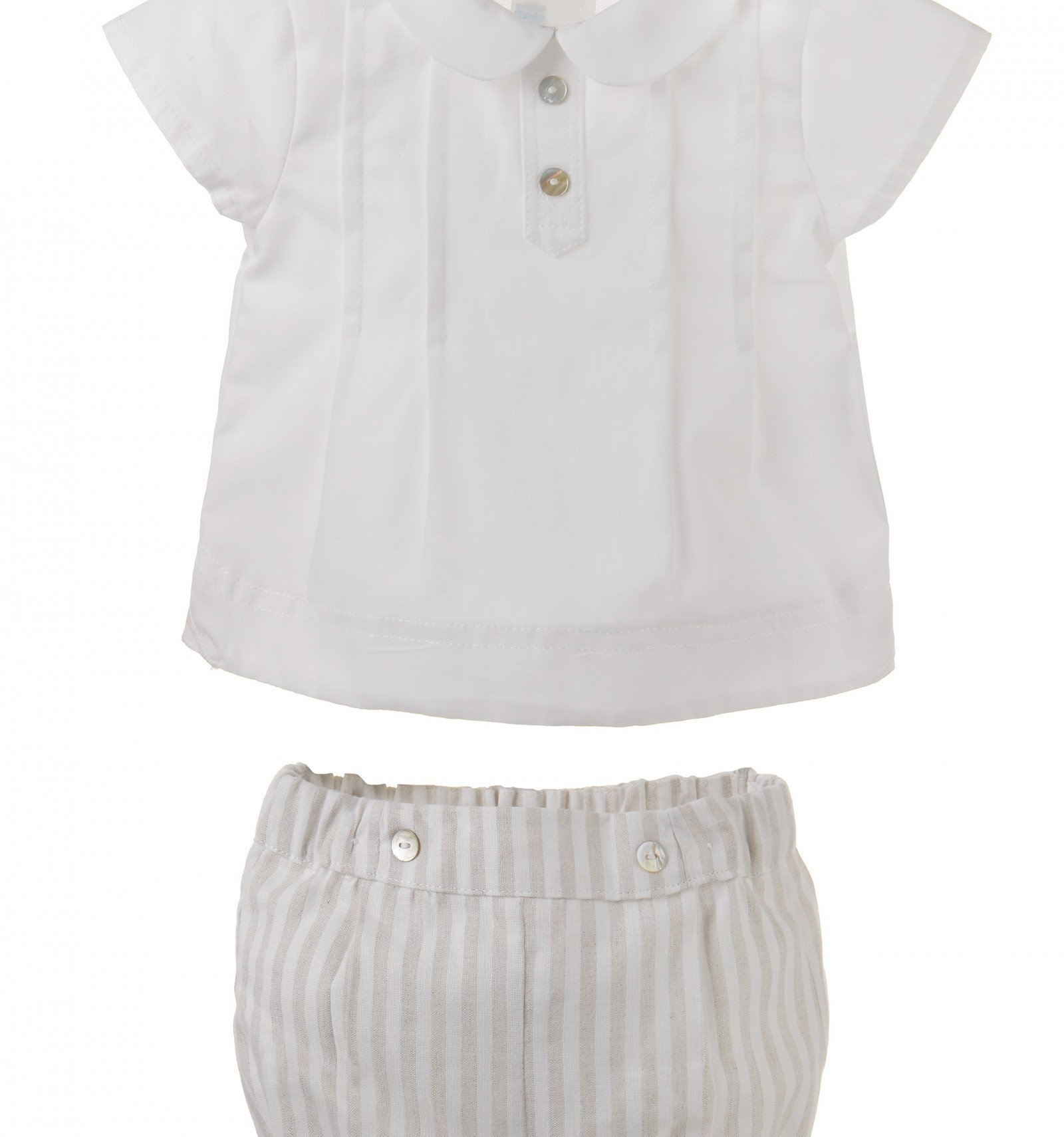 9ea1208b65f Conjunto para bebe niño de camisa y ranita.Coleccion ropa bebe 2016
