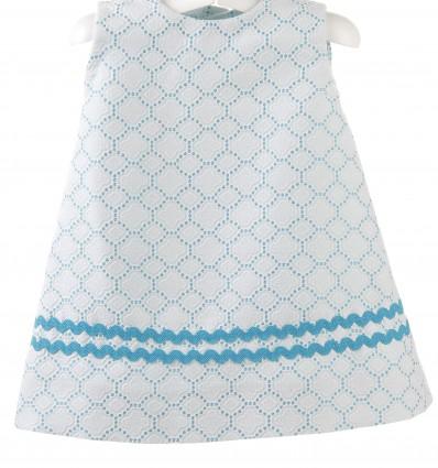 Vestido para bebé con ondulina