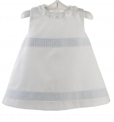 Vestido para bebé de lunares