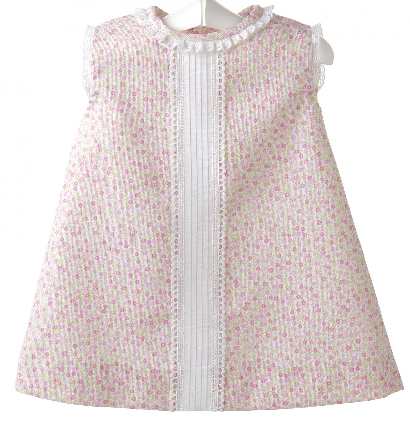 Vestido Para Bebé De Pique Estampadocoleccion Ropa Bebe Verano