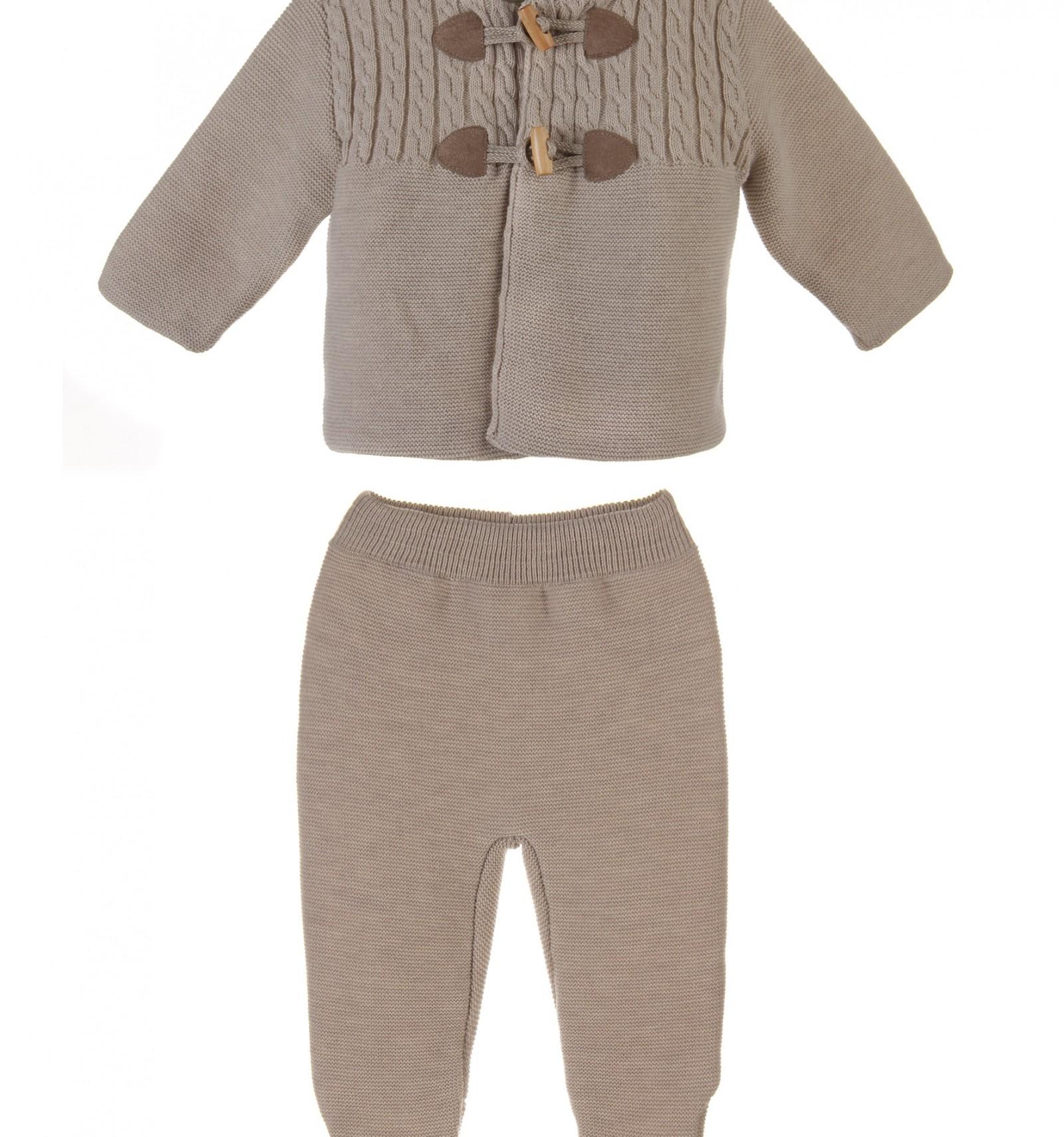San francisco bebe.Conjunto de chaqueta con capiuchay polaina f5bf398009d2