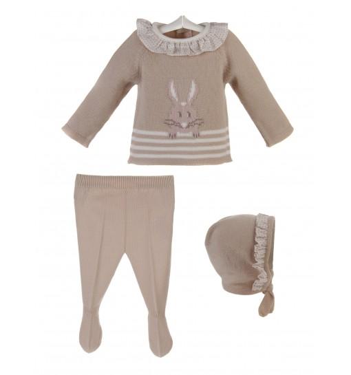 9eaa4c044f15f Comprar online ropa bebes otoño invierno artesanal. - Peques y Bebes