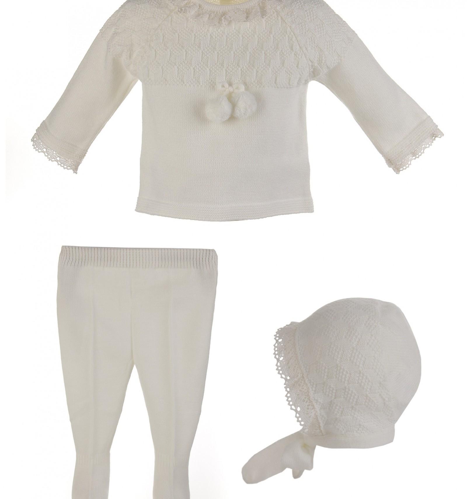 b6f1023ff Comprar online conjunto de ceremonia y bautizo bebé