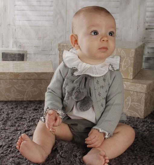 109008a374ed1 Comprar online ropa bebes otoño invierno artesanal. - Peques y Bebes