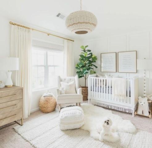 La habitación de tu bebé - foto sacada de pinterest