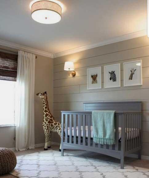 La iluminación de la habitación de tu bebé - foto sacada de pinterest