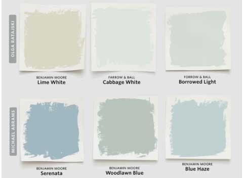 paleta de colores para la habitación de tu bebé - foto sacada de pinterest