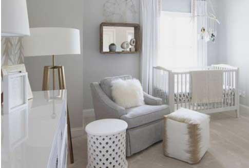 sillon de la habitacion de tu bebé - foto sacada de pinterest
