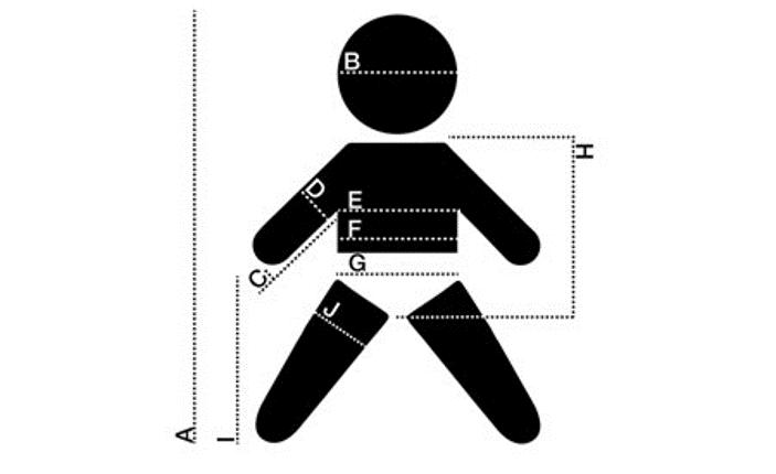 como medir a tu bebé