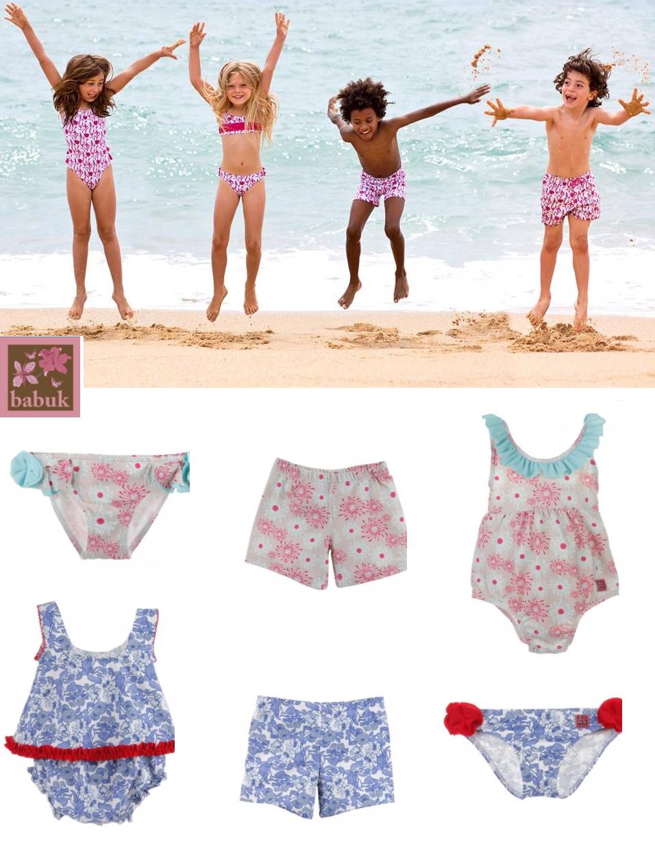 0fa685b12 Estas son algunas de las colecciones de bañadores infantiles de Babuk. En  Pequesybebés podrás encontrar otros modelos igual de divertidos y alegres a  los ...
