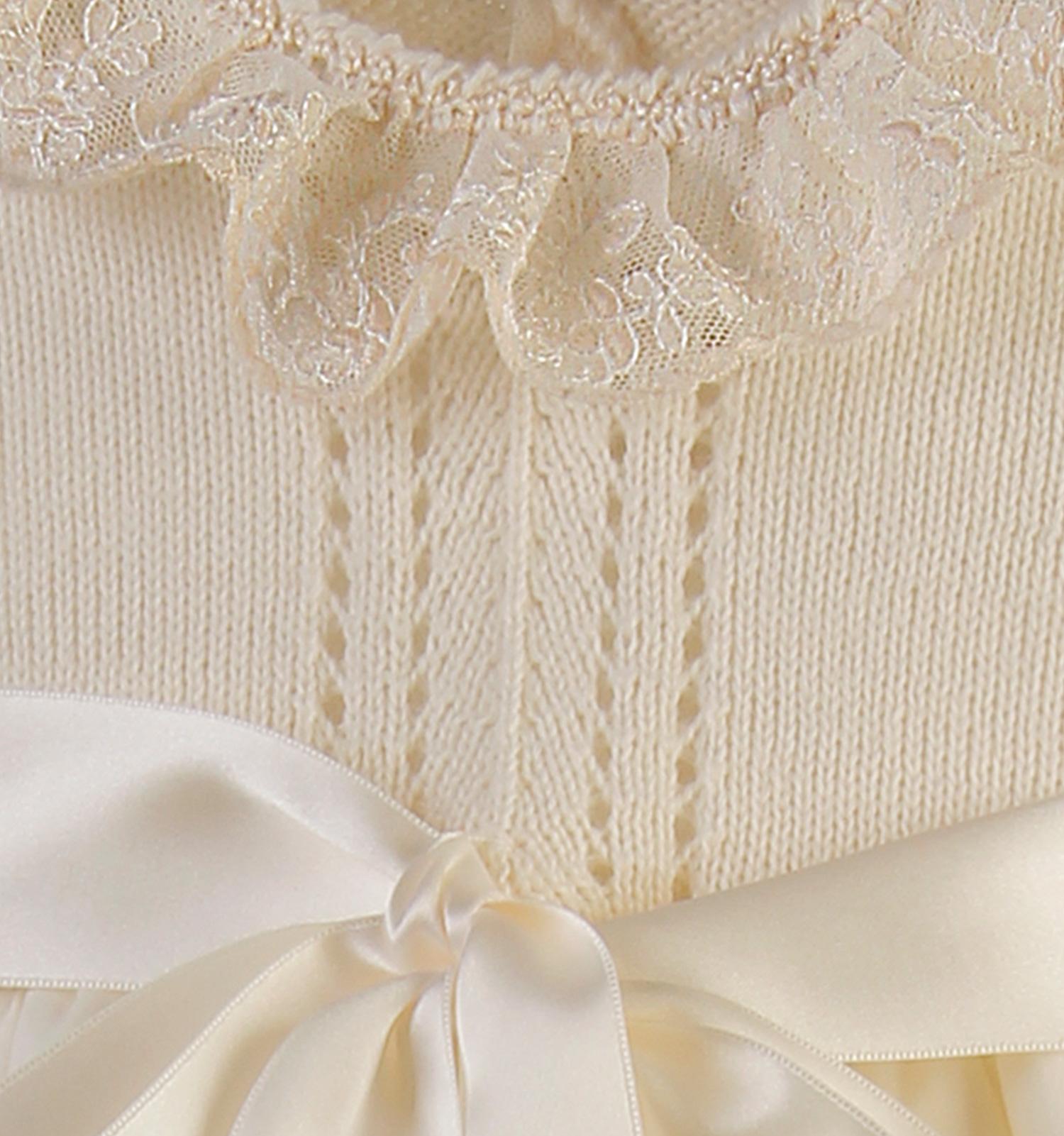 C419 - Cuerpo punteado en linea vertical en lana merino