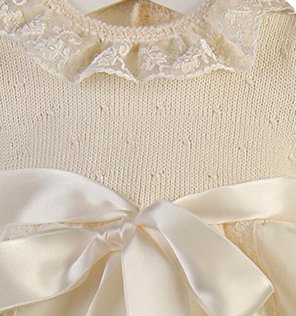 C419 - Cuerpo punteado en rombos en lana merino